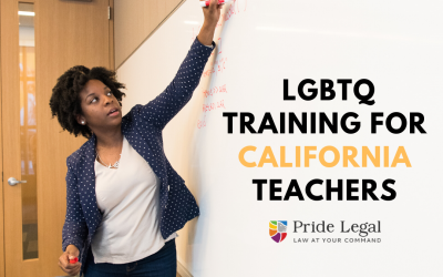 California Teachers to Receive LGBTQ Training